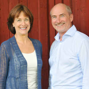 Deborah Burkholder and Tom McDonough